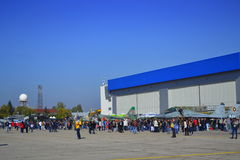 Portes ouvertes bulgares de l'Armée de l'Air Image libre de droits