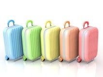 Portez la valise Photo libre de droits