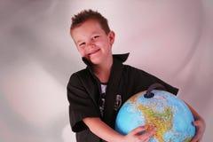 portez le globe Image libre de droits