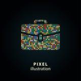 Portfólio - ilustração do pixel Fotos de Stock Royalty Free