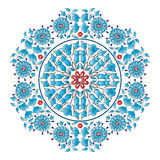 Portfólio oriental três do projeto dos motivos do otomano Fotografia de Stock Royalty Free
