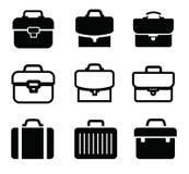 Portföljsymboler Fotografering för Bildbyråer