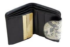 portfel. zdjęcia stock