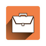 Portfolio business  icon. Vector illustration design Royalty Free Stock Photography