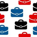 Portfolio icon seamless pattern Royalty Free Stock Photography