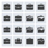 Portfolio icon set Stock Images