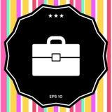 Portfolio icon symbol. Portfolio icon . Signs and symbols - graphic elements for your design Stock Photography