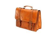 Portfolio leather Stock Image