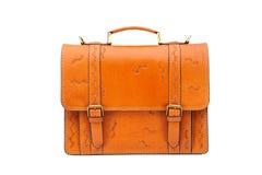 Portfolio leather Stock Photo