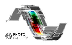Portfolio pour un photographe ou un studio Photo stock