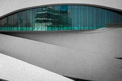 Portgebäude in Porto lizenzfreie stockfotografie