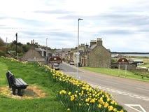 Portgordon Moray Scotland Stock Photos