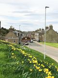 Portgordon Village Royalty Free Stock Images