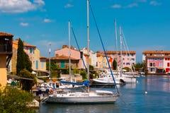 PortGrimaud, Frankreich Stockbild