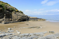 Porth Bach Beach Royalty Free Stock Images