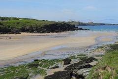 Porth Beach, Newquay, Cornwall Royalty Free Stock Images