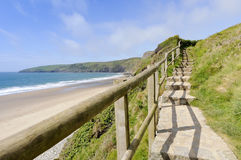 Porth Ceiriad Beach Stock Photos