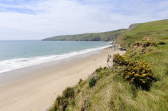 Porth Ceiriad Beach Royalty Free Stock Images