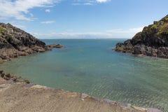 Porth Clais Wales Lizenzfreie Stockfotos