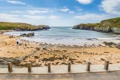 Porth Dafarch, Anglesey, βόρεια Ουαλία, UK στοκ εικόνες