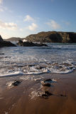 Porth Dafarch beach Stock Images