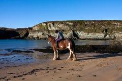 Porth Daffarch Beach Royalty Free Stock Image