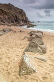 Porth kaplica Cornwall uk Fotografia Royalty Free