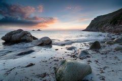 Porth Nanven Beach Stock Image