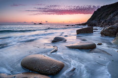 Porth Nanven Beach Stock Photography
