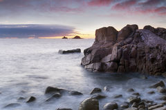 Porth Nanven Cove Stock Photography