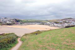 Porth Strand, Newquay, Cornwall Stockfoto