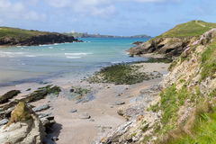 From Porth to Newquay Royalty Free Stock Photography