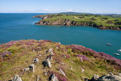 Porth Wen and the Anglesey Coast Stock Photos