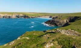 Porth-Witzstrand eine Küste nahe bei Crantock Cornwall England Großbritannien nahe Newquay Stockfoto