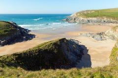 Porth-Witzstrand nahe bei Crantock-Bucht Cornwall England Großbritannien nahe Newquay Stockbilder