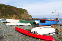 Porthallow Cornwall Royalty Free Stock Photography