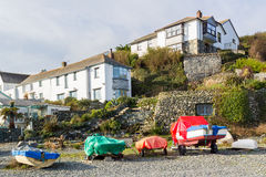 Porthallow Cornwall Royalty Free Stock Images