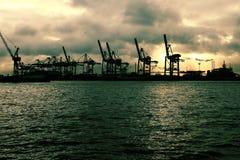 Porthamburg 1 Stockfotos