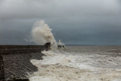 Free Porthcawl Harbour Seawall Royalty Free Stock Photo - 78412095