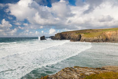 Porthcothan Bay Cornwall England Royalty Free Stock Photography