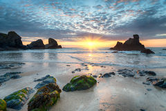 Porthcothan Bay Royalty Free Stock Photography