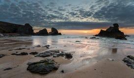 Porthcothan Beach Royalty Free Stock Photo