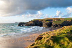 Porthcothan in Cornwall Royalty Free Stock Photography