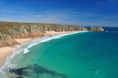 Porthcurno Stock Images