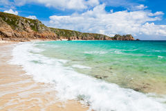Porthcurno Cornwall England Royalty Free Stock Photography