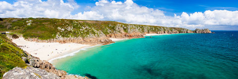 Porthcurno Cornwall England Stock Photography