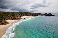 Porthcurno ~ Cornwall Royalty Free Stock Image