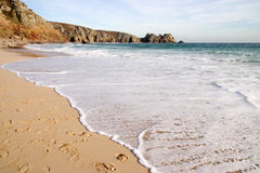 Porthcurno, Cornwall, UK Stock Image