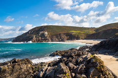Portheras Cove Cornwall England Royalty Free Stock Photography