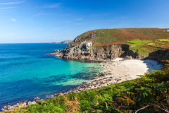 Portheras Cove Cornwall Stock Photos